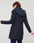Thirlmere MARINE NAVY Longline Padded Coat | Joules UK