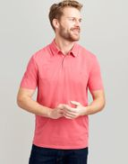 1bee3909ab6c3 Joules UK Laundered Polo Mens Relaxed Fit Polo Shirt LIGHT PINK