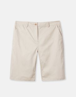 Joules UK Cruise Long Womens Chino Shorts IVORY