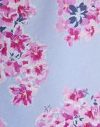 76d8cf5ee1 Joules UK Jasmine Womens Printed Jersey Dressing Gown BLUE FLORAL