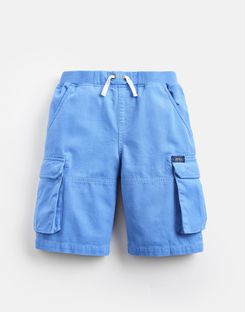 Joules US Bob Older Boys Cargo Shorts 3-12 Yr BLUE
