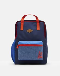 Joules UK Easton Boys Backpack FRENCH NAVY