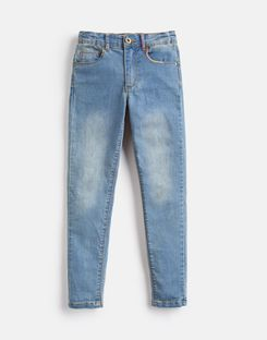 Joules US Linnet Older Girls Denim Jeans 3-12 Yr DENIM
