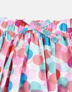 Joules Girls Ariel Woven Printed Skirt 1 6 Yr PINK MULTI COLOUR CHECK