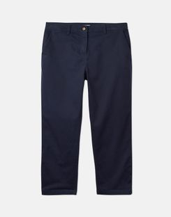 Joules UK HESFORD CROP Womens Chinos FRENCH NAVY