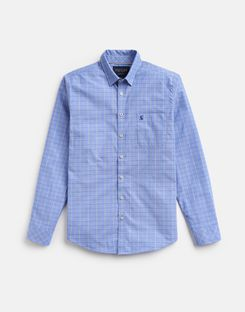 Joules UK Welford Mens Classic Fit Shirt BLUE MULTI CHECK
