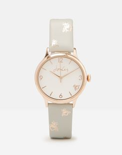 Joules UK Penlow Grey Womens Womens Watch LIGHT GREY BEE