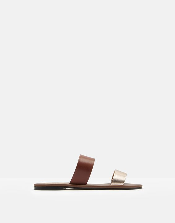 83c1e306eac9 Fenthorpe Two Strap Leather Sandals