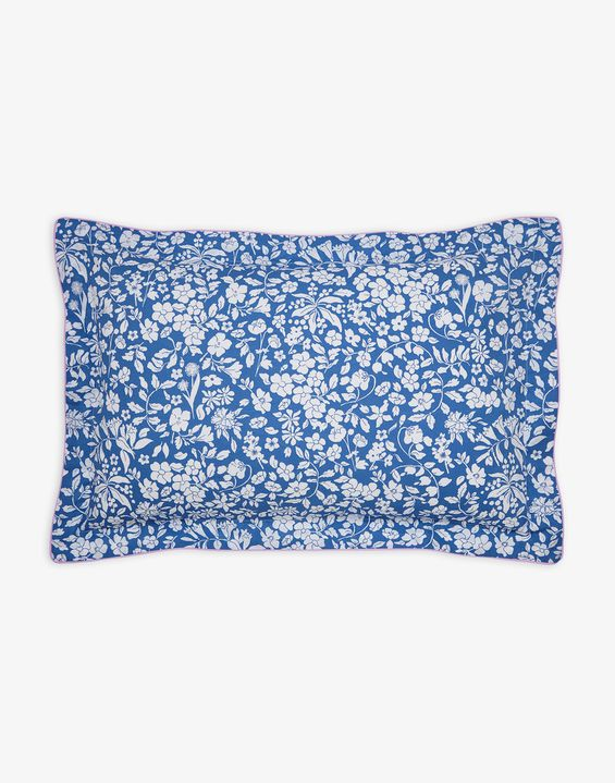 Image of BLUE DITSY Orchard ditsy oxford Pillowcase Size One Size