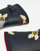 EU 33 Marine Rakete Tom Joule Neu Jungen 211272 Bedruckte Gummistiefel