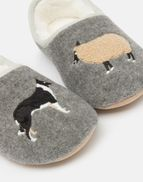 White Stuff Gilly Dog Mule Slippers Womesn Sizes S /& M