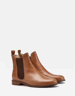 Joules UK Westbourne Womens Premium Chelsea Boot TAN