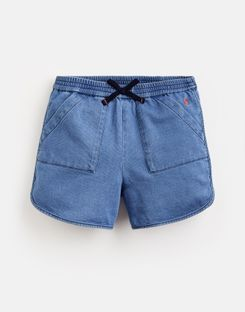 Joules US Becca Older Girls Denim Shorts 3-12 Yr DENIM