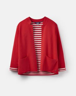 Joules UK Ursula Womens Milano Cardigan RED