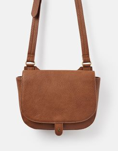 Joules US Kelby Bright Womens Saddle Purse TAN