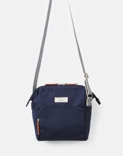 Joules US Coast Womens Cross Body Purse FRENCH NAVY