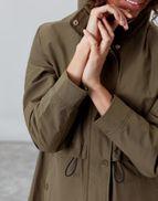 565745f13b Joules UK VICTORIA Womens Showerproof Rain Coat GRAPE LEAF
