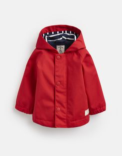 Joules US Coast Baby Boys Raincoat RED