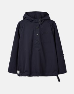 Joules US Embleton Womens Casual Pop Over Jacket MARINE NAVY