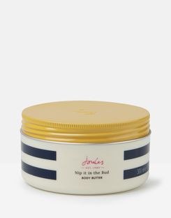 Joules UK Body Butter Homeware 300ml NAVY CREAM STRIPE
