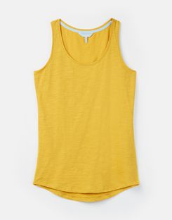 Joules UK Bo Womens Jersey Vest ANTIQUE GOLD