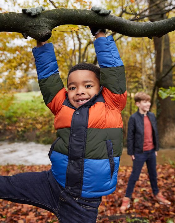 Joules Boys Gilford Quilted Jacket