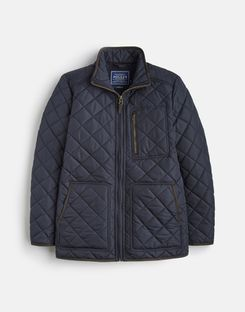 Joules US Derwent Mens Quilted Jacket MARINE NAVY