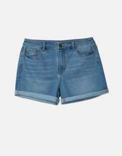 Joules US Marloe Womens Denim Short LIGHT DENIM