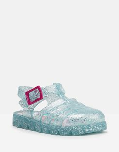 Joules UK JuJu Jelly Shoe Baby Girls Sandals AQUA