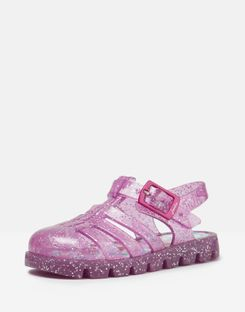 Joules UK JuJu Jelly Shoe Baby Girls Sandals TRULY PINK
