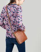 Joules Dunton Leather Cross Body Bag