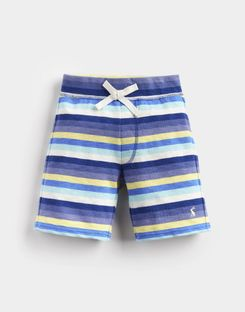 Joules US Bucaneer Younger Boys Jersey Short 1-6 Yr BLUE YELLOW STRIPE