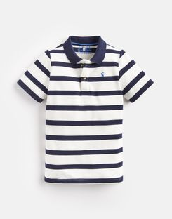 Joules US Filbert Older Boys Boys Stripe Polo Shirt 3-12 Yr CREAM NAVY STRIPE