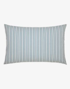 Joules UK Cottage Garden Floral Stripe Standard Homeware Pillowcase BLUE STRIPE