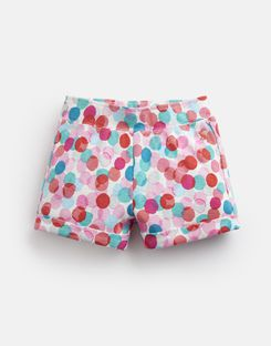 Joules US Kittiwake Older Girls Jersey Shorts 1-12 Yr MULTI FAIRY SPOT