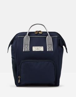 Joules US Coast Girls Mini-Me Backpack FRENCH NAVY