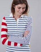 Joules Amber Ladies Multi Rugby Shirt