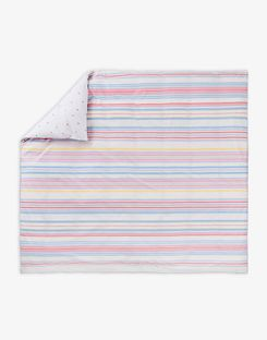 Joules UK Summer Fruit Stripe Homeware Duvet Cover STRIPE MULTI