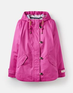 Joules UK Coast Womens Waterproof Jacket PINK