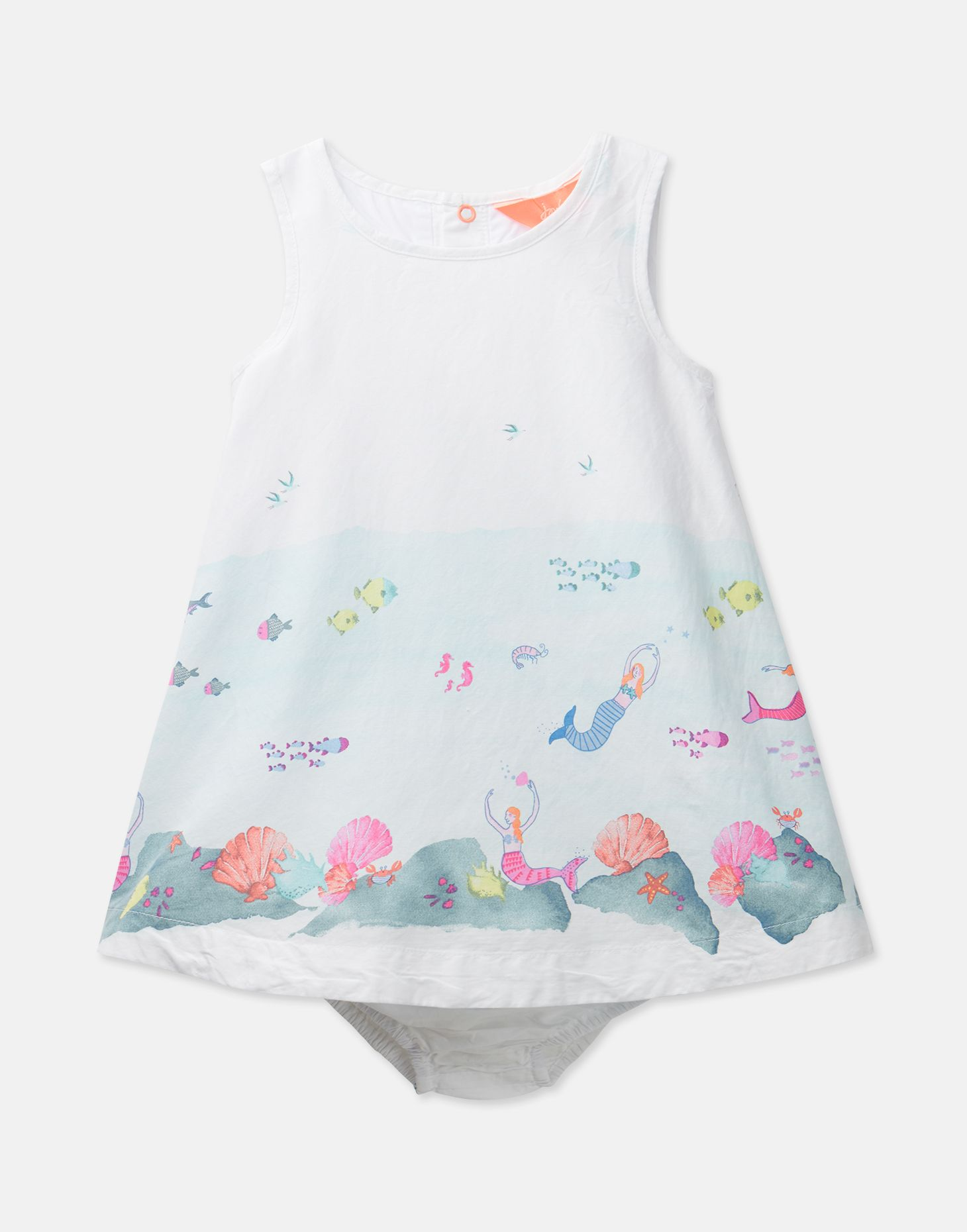 edd2bff410 Beach Ditsy Dresses Joules Baby Woven Dress and Knicker Set