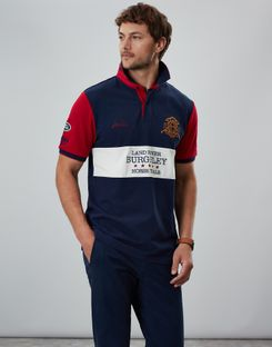 Red Joules Womens Official Burghley Horse Trials Polo Shirt