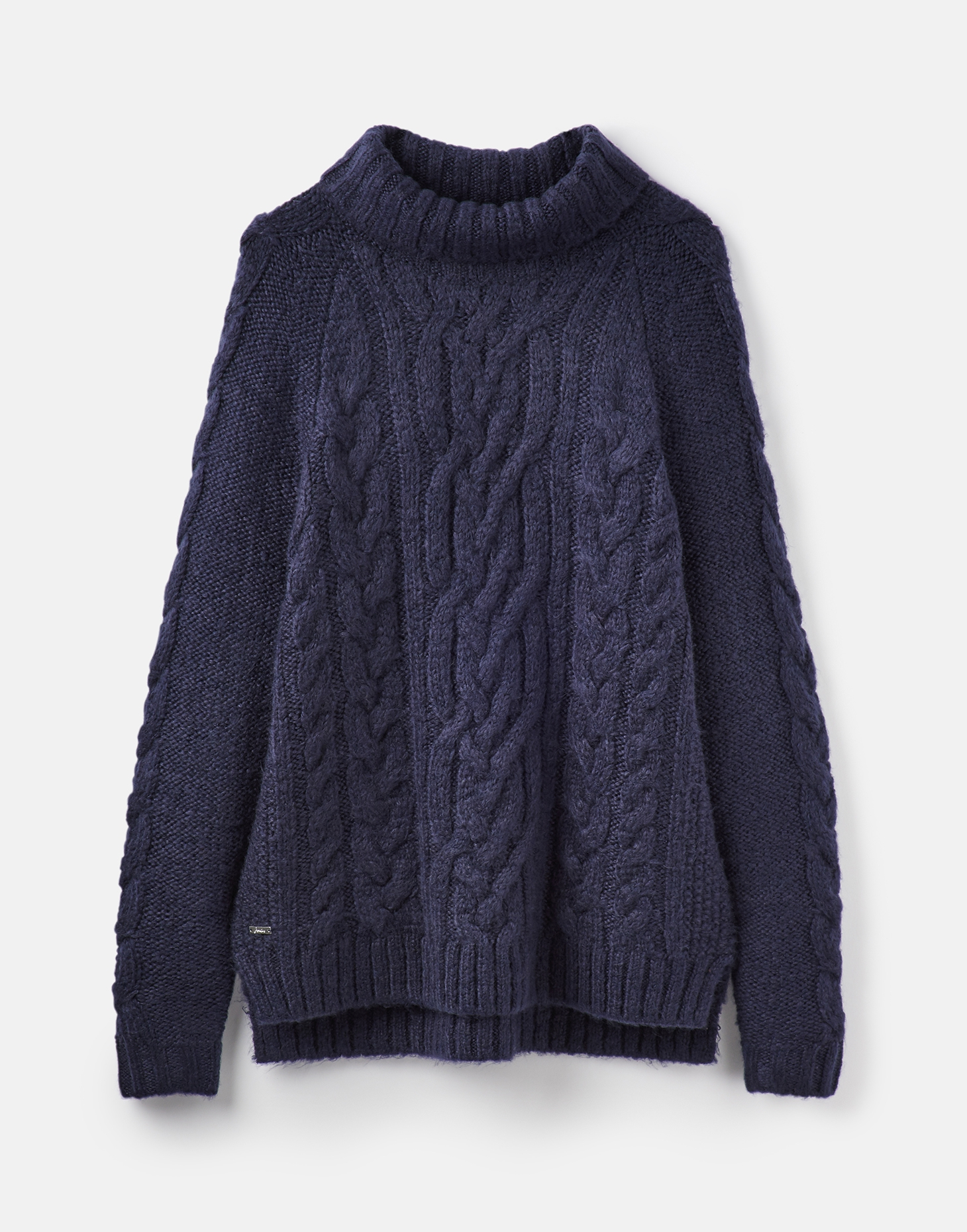 88337b1ef9d Details about Joules Womens Jessie Cosy Cable Jumper 14 in FRENCH NAVY Size  14