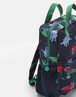 Joules UK Easton Boys Backpack NAVY DINOS