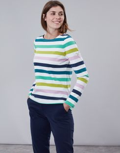 69feff3355 Breton Stripe Tops & Nautical Print Tops For Women | Joules