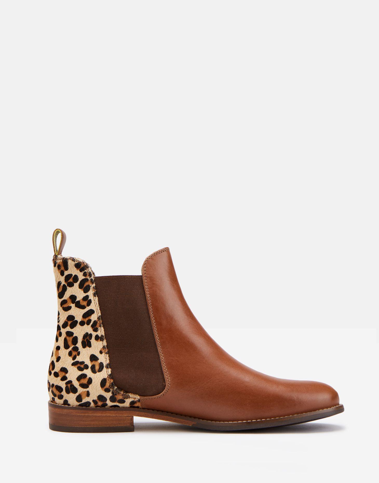 b5420d3a62147 Westbourne LEOPARD Premium Chelsea Boot | Joules US