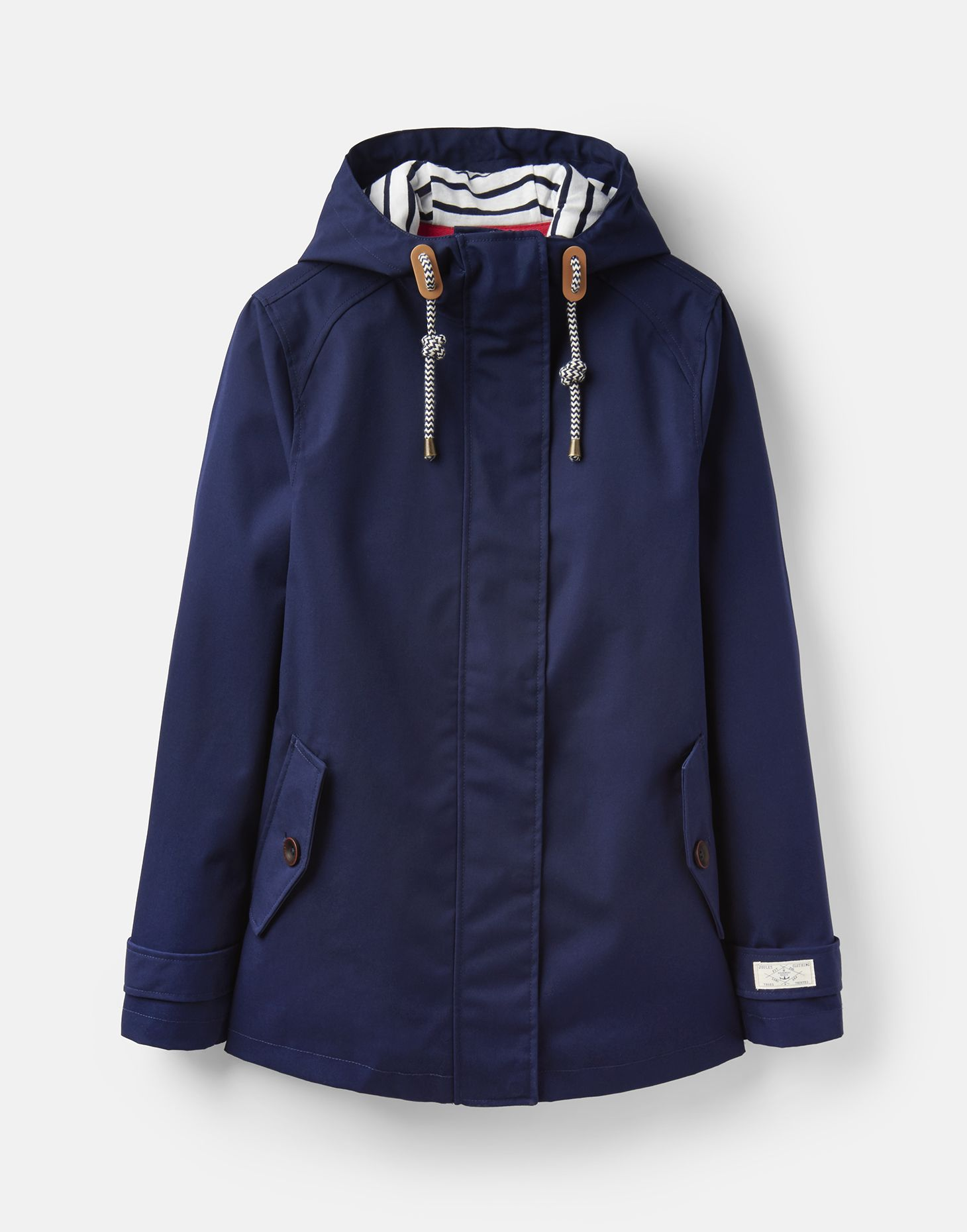 exquisite craftsmanship super service first look Details about Joules 207519 Waterproof Coat in FRENCH NAVY