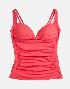 Joules UK Roma Womens Tankini Top RED SKY