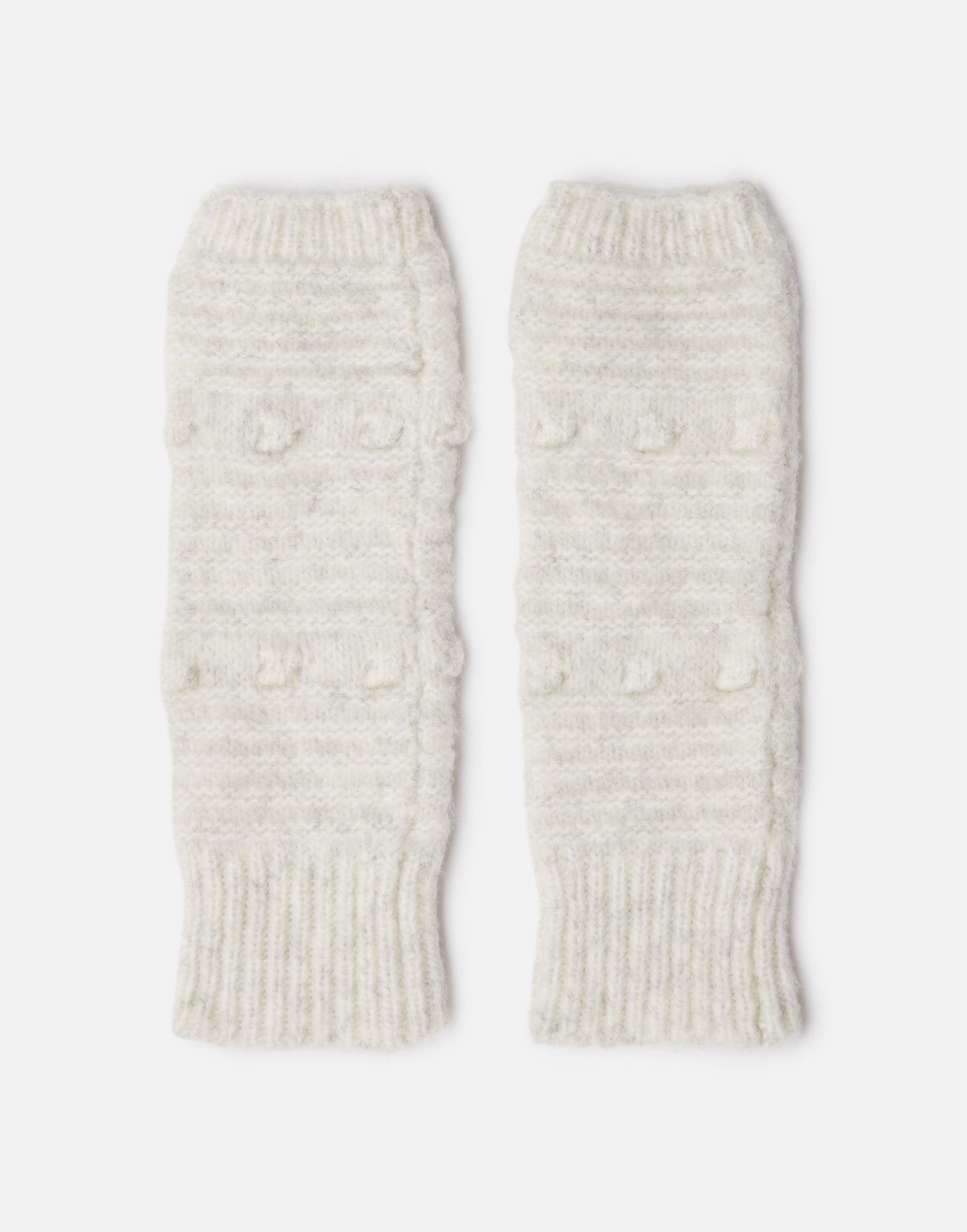 Joules Womens Flurrywell Knitted Scarf ONE in LIGHT GREY MARL in One Size