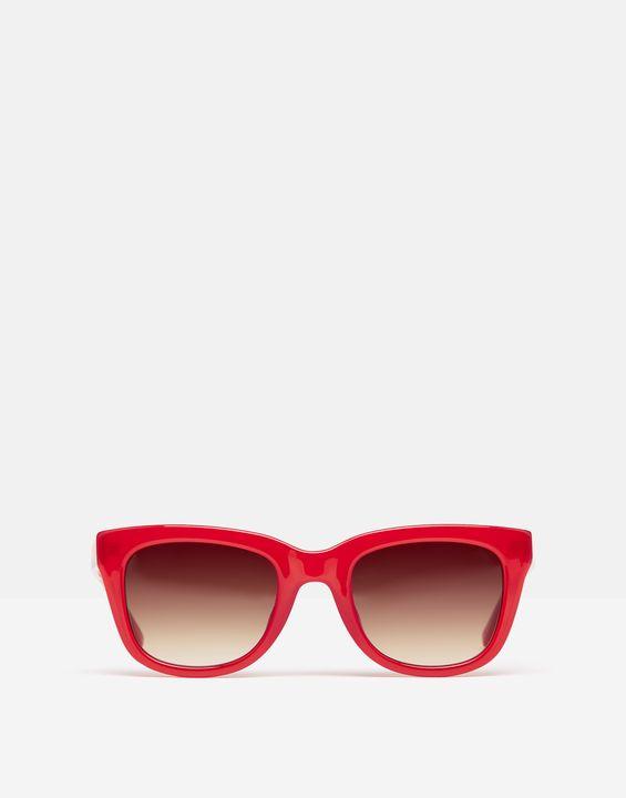 Joules Womens Blengdale Sunglasses - Coral Spot
