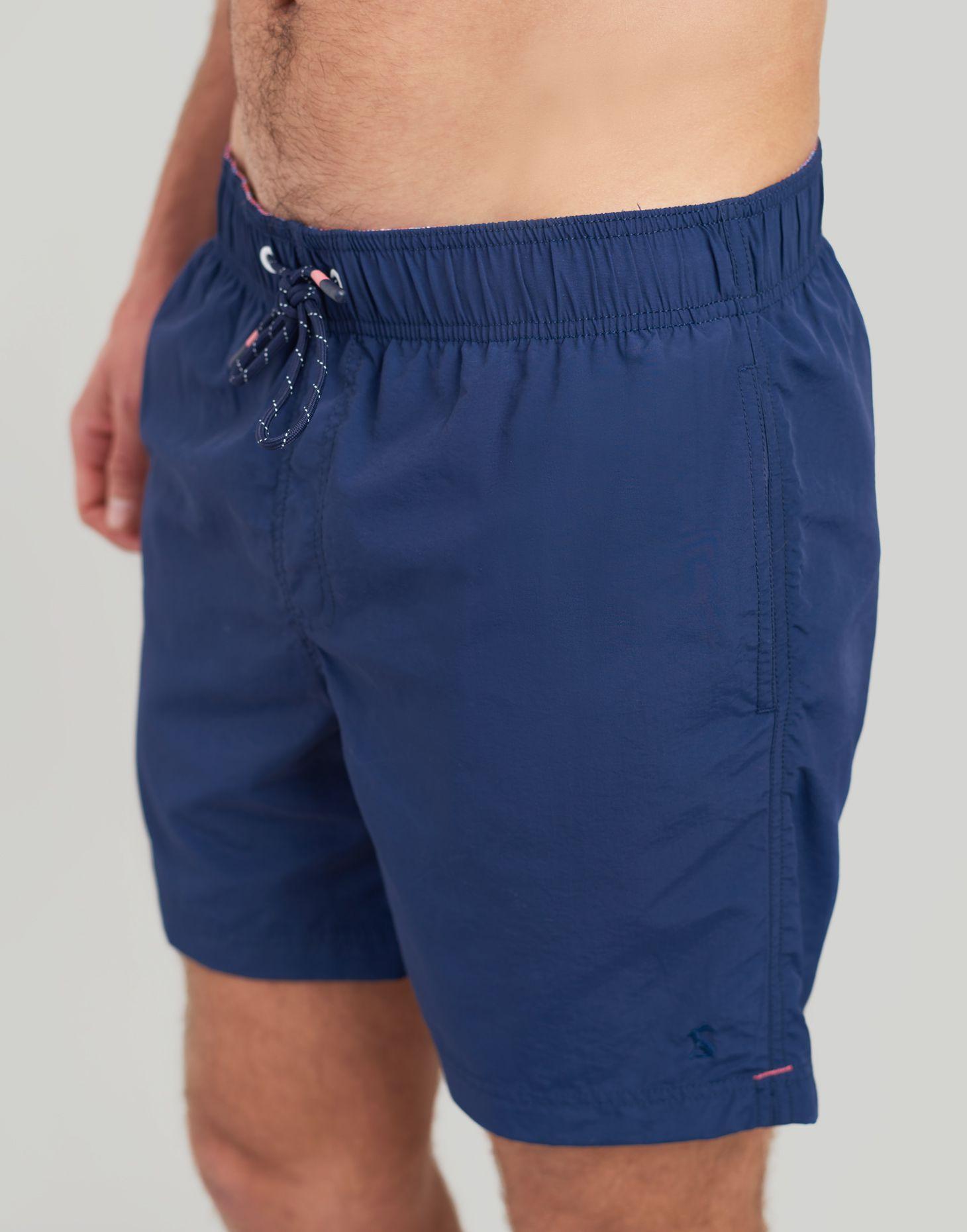 af58eb36ac Heston DARK BLUE Swim Shorts | Joules UK